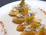 Arctic Circle Crab Crostini