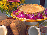 Paula's Laula Luau Coconut Pie