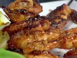 Glazed Barbeque Shrimp