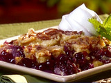 Pineapple Blueberry Crunch Cake