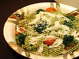 Chicken, Broccoli, and Cherry Tomato Fusilli