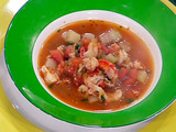 Crawfish and Mirliton Soup