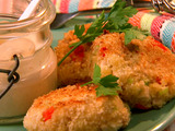 Chicken Croquettes with Creole Sauce