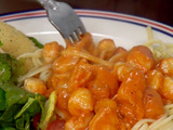 Bubba's Creamy Spicy Seafood Pasta