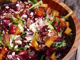 Jamie's Salad with Maple Red Wine Vinaigrette