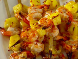 Chili Prawn Skewers