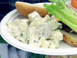 Irish Potato Salad with Apples