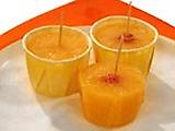 Tangerine Popsicles