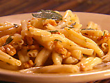 Twisted Pasta with Brown Butter and Walnuts