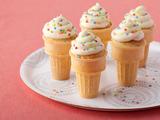 'Cake' Ice Cream Cones