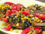 Cajun Pork with Spicy Beans
