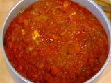 Polenta con Ragu di Baccala (Polenta with Salt Cod)