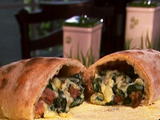 Baked and Fried Calzone