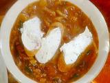 Zuppa di Porcini with Mascarpone Crostini: Porcini Soup
