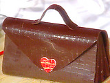 Molded Chocolate Handbag