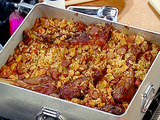 Turkey and Sausage Jambalaya for a Crowd