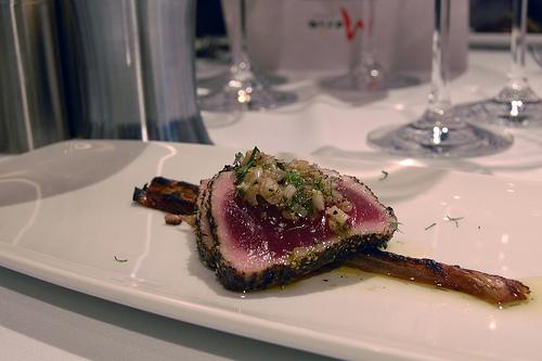 Fennel Crusted Tuna