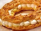 Paris-Brest Custard Cake