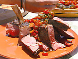 Jan's Cowboy Steak with Tomato Relish