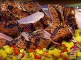 Jerk Pork Tenderloins with Mango Salsa