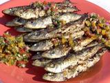 Grilled Monterey Sardines