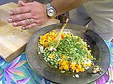 Cucumber-Papaya Salad