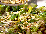 Escarole with Pine Nuts