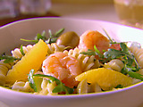 Fusilli with Shrimp, Orange and Arugula (Summer)