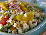 Fregola Salad with Fresh Citrus and Red Onion