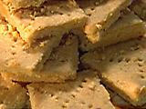 Savory Cheddar Shortbread