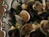Conghilie With Clams and Mussels