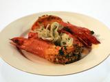 """Friday Shrimp"" (Turmeric-Rubbed Shrimp Stuffed with Garlic and Cilantro)"