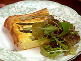 Crispy and Delicious Asparagus and Potato Tart
