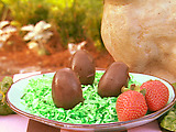 Chocolate Covered Potato Eggs