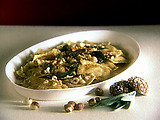 Pumpkin Ravioli with Sage and Toasted Hazelnuts