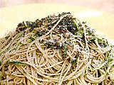 Spaghettini Squared: Pasta with Olive Oil, Garlic, and Zucchini