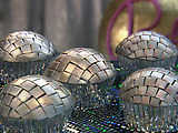 Discoball Cupcakes