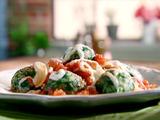 Parmesan Arugula Dumplings