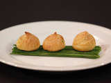 Chorizo and Manchego Puffs