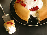 Savarin Cake with Vanilla-Grand Marnier Syrup