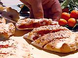 Strawberry Rhubarb Calzone