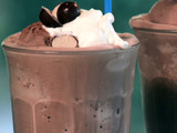 Chocolate Malted Milkshake