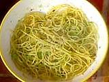 Spaghetti with Green Tomatoes Spaghetti con Pomodori Verdi