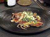 Sauteed Soft-shell Crabs with Garlic and Butter