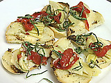 Artichoke Toasts