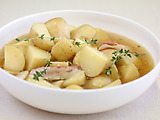 Slow Cooked Potatoes with Butter and Thyme