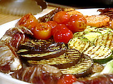 Grilled Antipasto with Mezzo Soprano Sauce