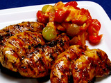 Blackened Chicken with Fruit Salsa
