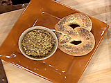 Giant Poppyseed Pretzels