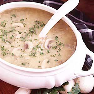 Mushroom Onion Soup Recipe